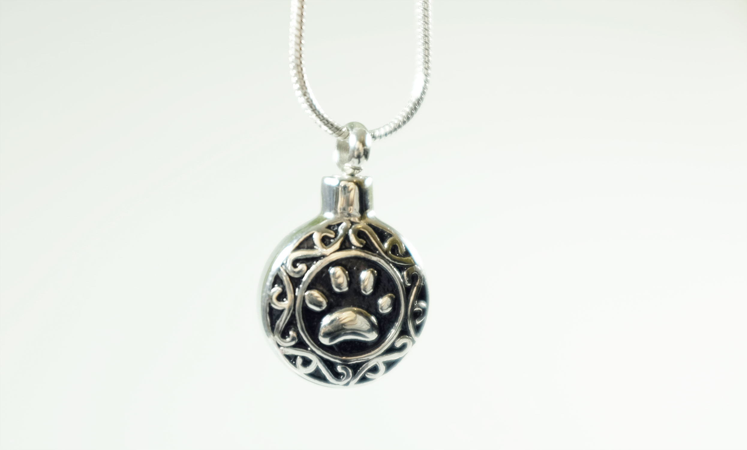 scattering cremation product cylinder ashes pendant silver premium ash into jewellery filigree pendants memorial uk